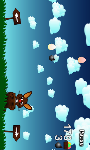 Rushing Bunny, help me to collect all the eggs screenshots 3