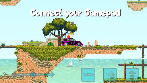 Pixel Boost League - 2D Rocket Powered Car Soccer 1.7.1 screenshots 7
