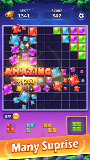BlockPuz Jewel-Free Classic Block Puzzle Game 1.2.2 screenshots 3