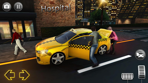Modern City Taxi Simulator: Car Driving Games 2020 apkpoly screenshots 3