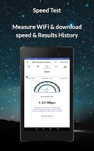 Router Admin Setup Control & Speed Test