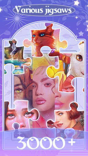 Happy jigsaw puzzles - calm & relax Apkfinish screenshots 1