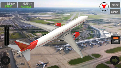 Extreme Airplane simulator 2019 Pilot Flight games 4.1 screenshots 2