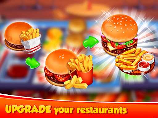 Hell's Cooking: crazy burger, kitchen fever tycoon apklade screenshots 2