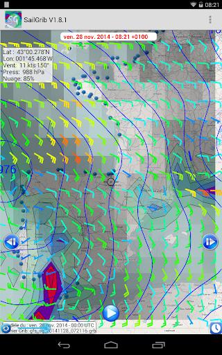 Marine Weather | SailGrib Free 2.0.1 Screenshots 9