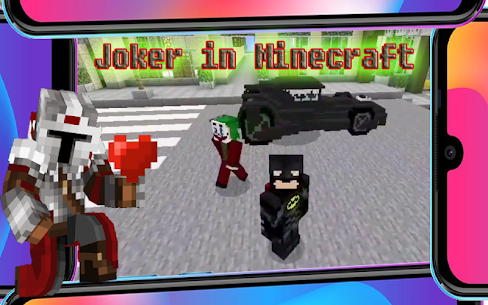 Joker vs Bat Mod Minecraft 5.49 [Mod + APK] Android 2