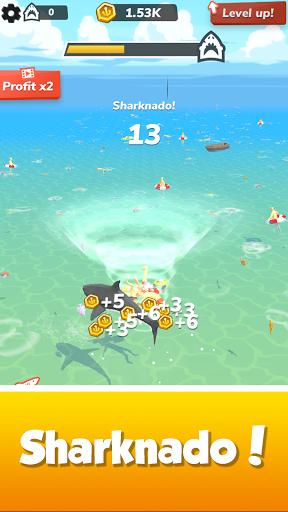 Idle Shark World: Hungry Monster Evolution Game screenshots 7