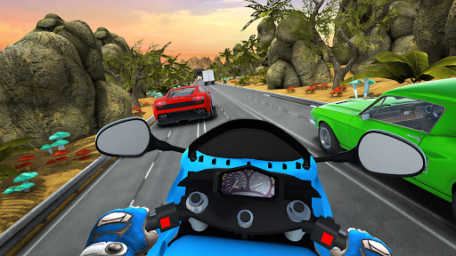 City Rider - Highway Traffic Race Apkfinish screenshots 9
