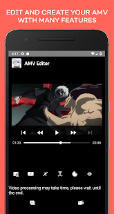 Anime Music Video Editor - AMV Editor Screenshot