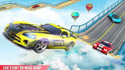 Mega Ramp Car Racing Stunts 3D : Stunt Car Games android2mod screenshots 7
