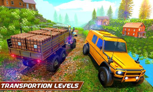Top Off-road Simulator: Jeep Driving Games 2021  screenshots 3