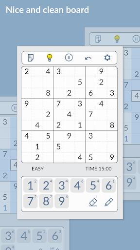 SUDOKU - Free Games 1.2.617 screenshots 2