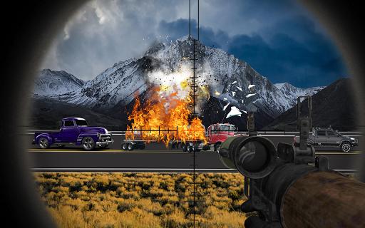 Rocket Launcher Traffic Shooter apkdebit screenshots 1