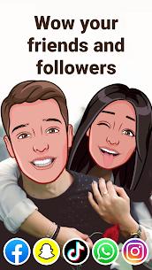 Mirror: yüz uygulaması, avatar, çıkartma ve emoji Eğlenceli Full Apk İndir 1