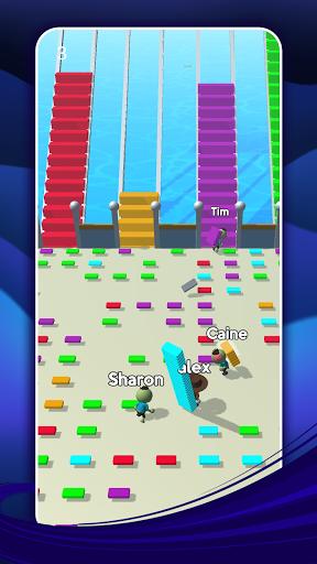 Bridge Run: Stairs Build Competition screenshots 1