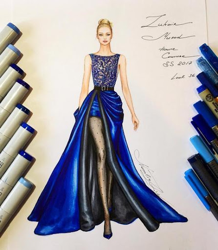 Creative Fashion Design Flat Sketch Ideas  Screenshots 2