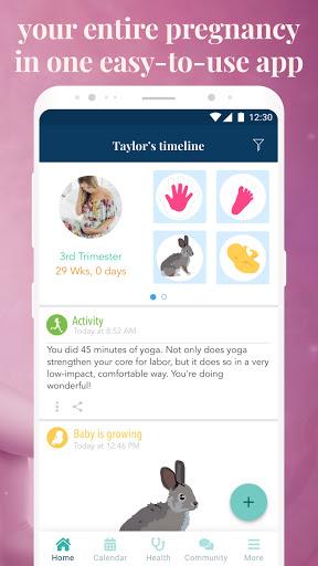Ovia Pregnancy Tracker: Baby Due Date Countdown 2.8.1 Screenshots 2