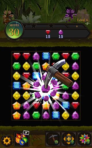 Secret Jungle Pop : Match 3 Jewels Puzzle 1.5.1 screenshots 12