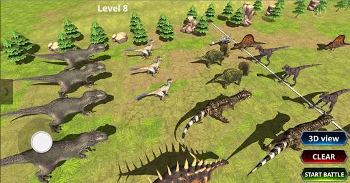 Jurassic Epic Dinosaur Battle Simulator Dino World 1.0.1 screenshots 9