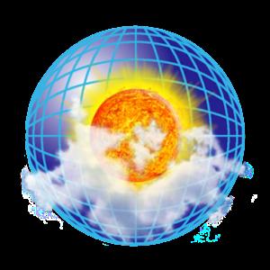 NOAA doppler radar with weather alerts  eMap HDF