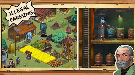 bootleggers: illegal farm - moonshine mafia game screenshot 1