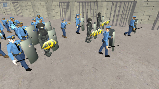 Battle Simulator: Prison & Police apktram screenshots 4