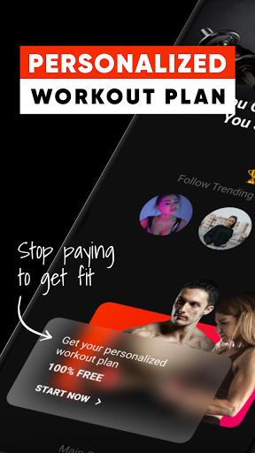 myViTrend Fitness Social Media screenshot 1