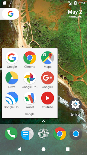 N+ Launcher - Nougat 7.0 / Oreo 8.0 / Pie 9.0 1.8.6 Screenshots 2