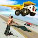 飛行 ダンプ 建設 トラック 運転する - Androidアプリ