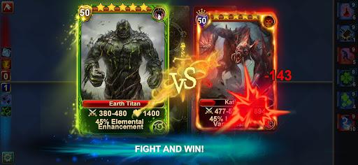 Blood of Titans: Quest & Battle Fantasy ccg 1.19 screenshots 2