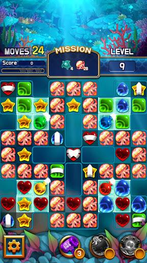Jewel Abyss: Match3 puzzle 1.13.1 screenshots 8