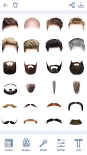 Man Hairstyles Photo Editor 1.8.8 Screenshots 12