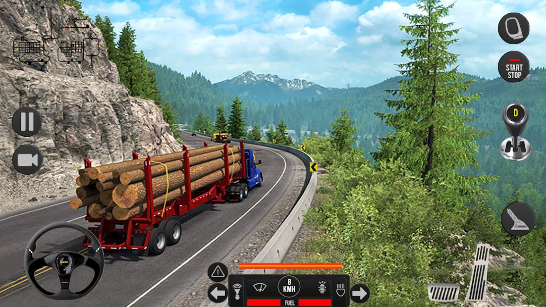 Captura 15 de Camión pesado mundial: nuevos juegos de camiones para android