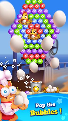 Kitten Games - Bubble Shooter Cooking Game apkmr screenshots 2