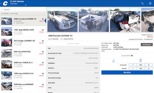 Copart u2013 Salvage Car Auctions 5.6.5 Screenshots 10
