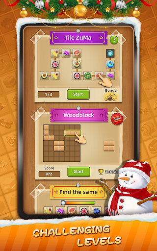 Tile Connect - Free Tile Puzzle & Match Brain Game android2mod screenshots 13
