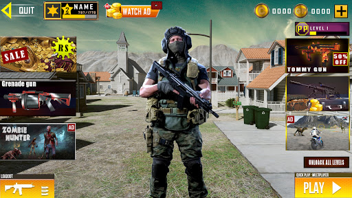 Real Commando Shooting: Secret mission - FPS Games  screenshots 12