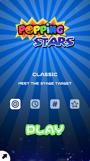 Popping Stars-Free classic elimination game  screenshots 1