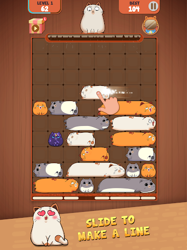 Haru Cats: Slide Block Puzzle 1.4.10 screenshots 18