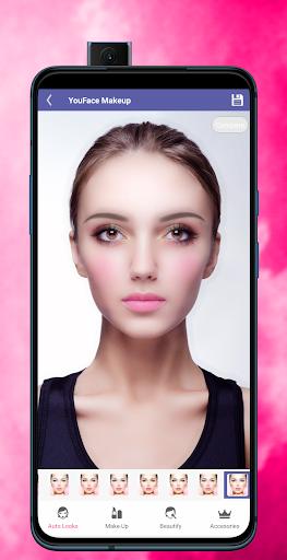 Face Makeup & Beauty Selfie Makeup Photo Editor 1.2 Screenshots 2