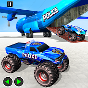 Grand Police Monster Truck Transport Driving Games