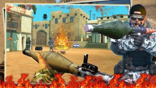 Descargar FPS Commando Secret Mission APK (2021) {Último Android y IOS} 2