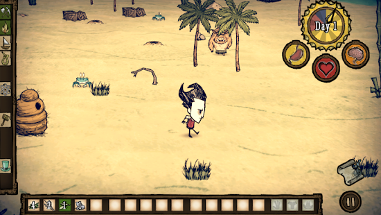 Скриншот №1 к Dont Starve Shipwrecked