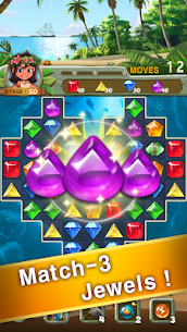 Paradise Jewel: Match 3 For Pc – Free Download In Windows 7, 8, 10 And Mac 1