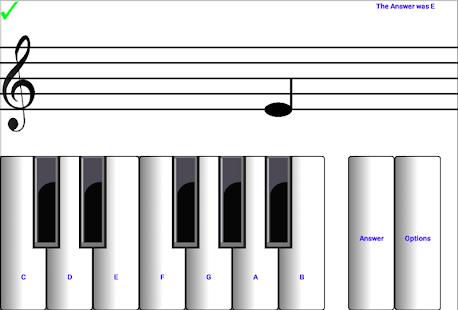 (light) learn sight read music notes piano tutor 7.0.3 Screenshots 6