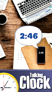 Talking clock in English For Pc (Free Download On Windows7/8/8.1/10 And Mac) 1