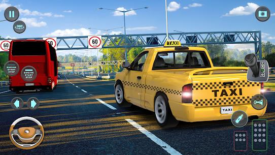 City Taxi Driving simulator: PVP Cab Games 2020 5