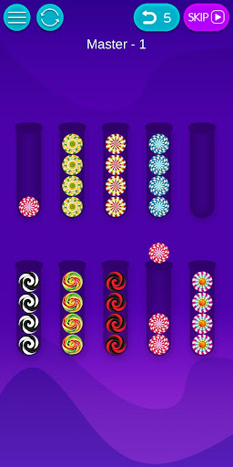 Bubble Sort - Fun IQ Brain Games and Logic puzzles 1.2.8 screenshots 4