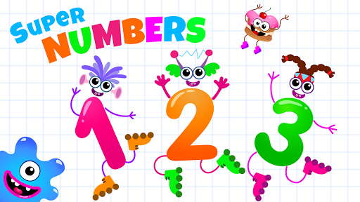 Learning numbers for kids! Writing Counting Games! apkslow screenshots 6