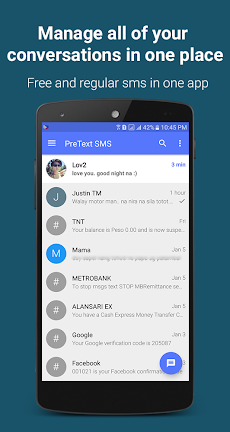 FREE TEXT to Philippines | PreText SMS - SMS/MMSのおすすめ画像3